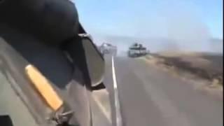 АТО  Видео военных Украины попавших под обстрел ополчения  Донецк, Луганск, ДНР, ЛНР