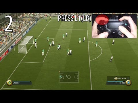BEST CORNER IN FIFA 17 TUTORIAL - HOW TO DO THE MANUAL CORNER