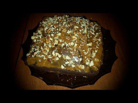 Шоколадные кексы с грецкими