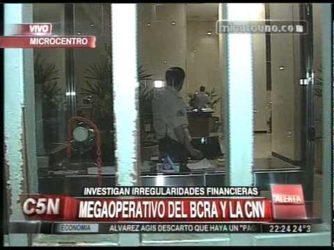 C5N - MINUTO UNO: MEGAOPERATIVO DEL BCRA Y LA CNV