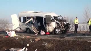 Accident rutier cu două persoane decedate și alte șapte rănite, la Sasca Nouă