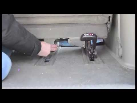 How to Remove a Minivan Seat