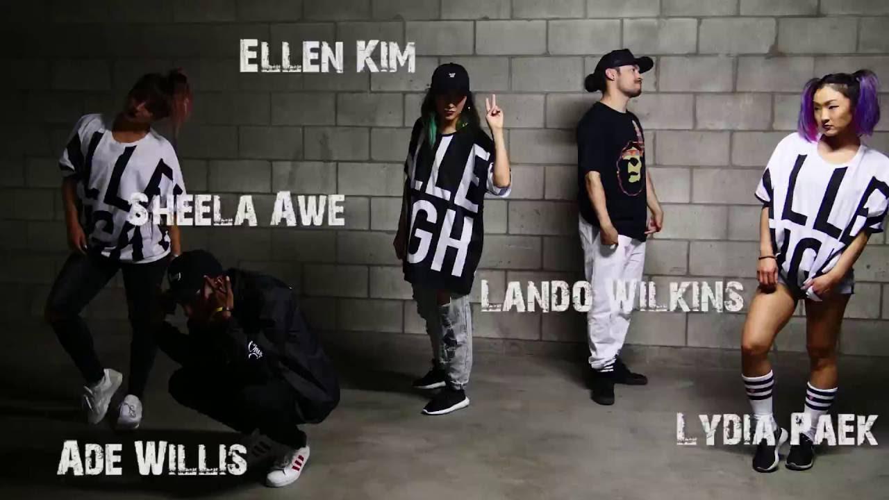 Ellen Kim Choreographer BLASE   TY DOLL...