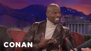 Conan O'Brien Conan Conan (TV Series) TBS (TV Channel) Team Coco Celebrity Interviews Terry Crews