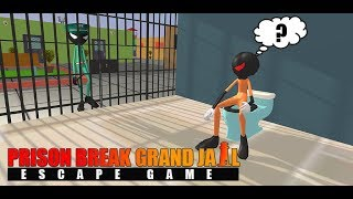 Prisoner Stickman Jail Survival Story: Escape Plan