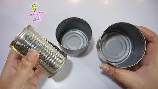 amazing thing to make with empty tin can| best reuse idea