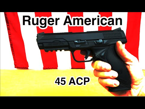 Ruger American, 45 ACP - First Impression (HD)