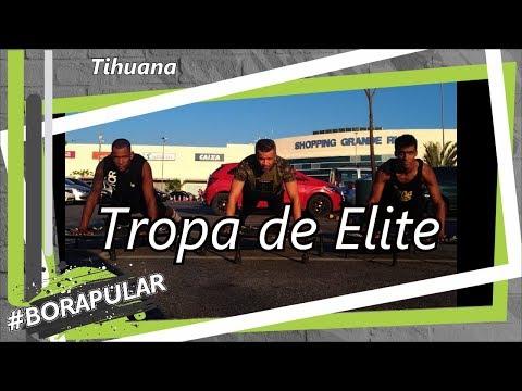 Tropa de Elite - Tihuana   Coreografia Free Jump   #borapular (AERO JUMP)