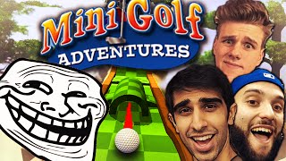 the biggest troll golf with your friends