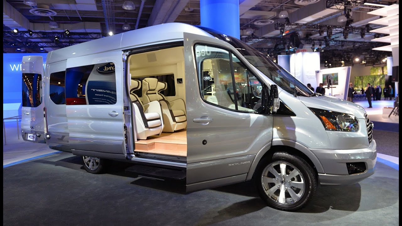 Ford Transit Cutaway >> 2016 Ford Transit - Interior and Exterir - Review - YouTube