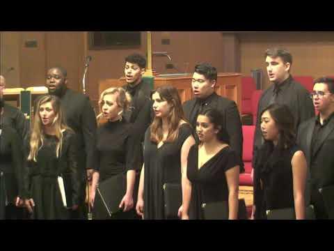 2018-01-23 Chapman University Singers