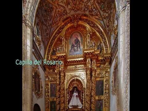 Santo Domingo Church Mexican Baroque. Oaxaca