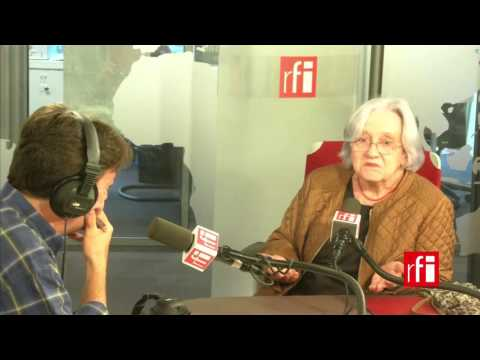 Cristina Martínez entrevistada por Jordi Batallé en Radio Francia Internacional