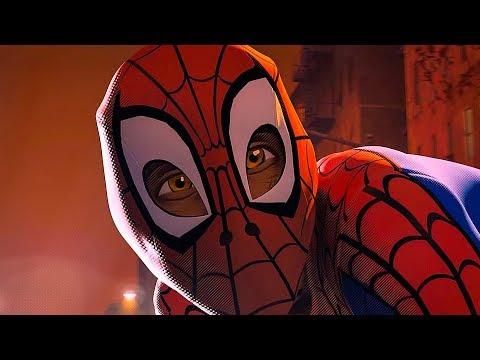 Человек Паук против Бродяги / Майлз Моралес против Бродяги! Человек паук: Через вселенные. 2018