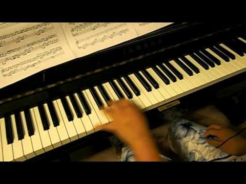 Super Junior - All My Heart (piano by losttuna's ears)