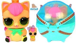 - Гигантский Шар Питомец Лол Декодер Моя коллекция Куклы Лол Видео для детей BIGGIE LOL PETS