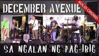 Gambar cover December Avenue - Sa Ngalan Ng Pag-Ibig (Live at Robinsons Place Antipolo) *Solid Crowd*