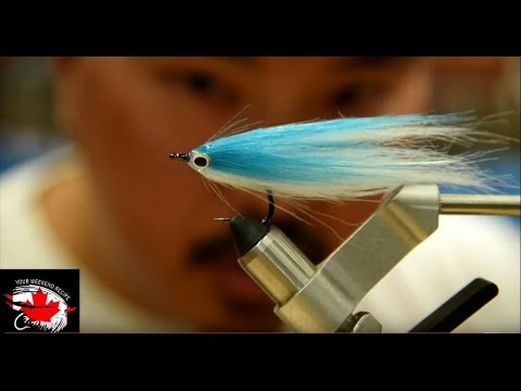 Friday Night Flies - Easy Saltwater Baitfish Fly