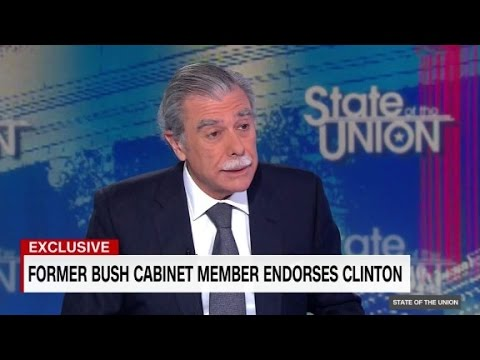 Fmr. Bush Commerce Secretary Carlos Gutierrez: Trump a ...