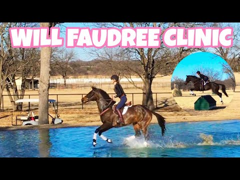 WILL FAUDREE CLINIC // XC & Show Jump 2018