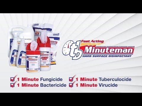 tb Minuteman Hard Surface Disinfectant