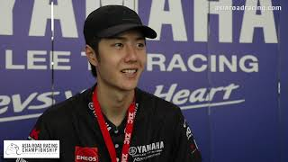 WANG YI BO talks Motorcycle Racing and His Fans at ARRC China