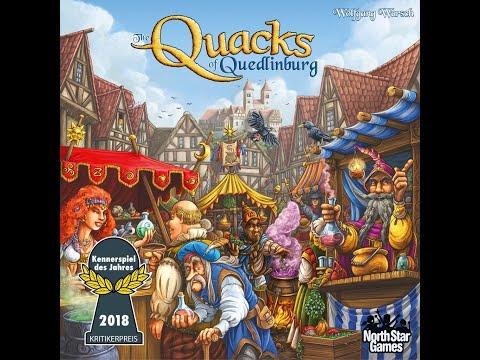 Learn To Play: Quacks Of Quedlinburg