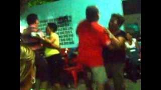 Cumpleaños de Mery Rojas en el solar de Benjamin en Carirubana