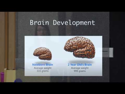 Electronics and Brain Development