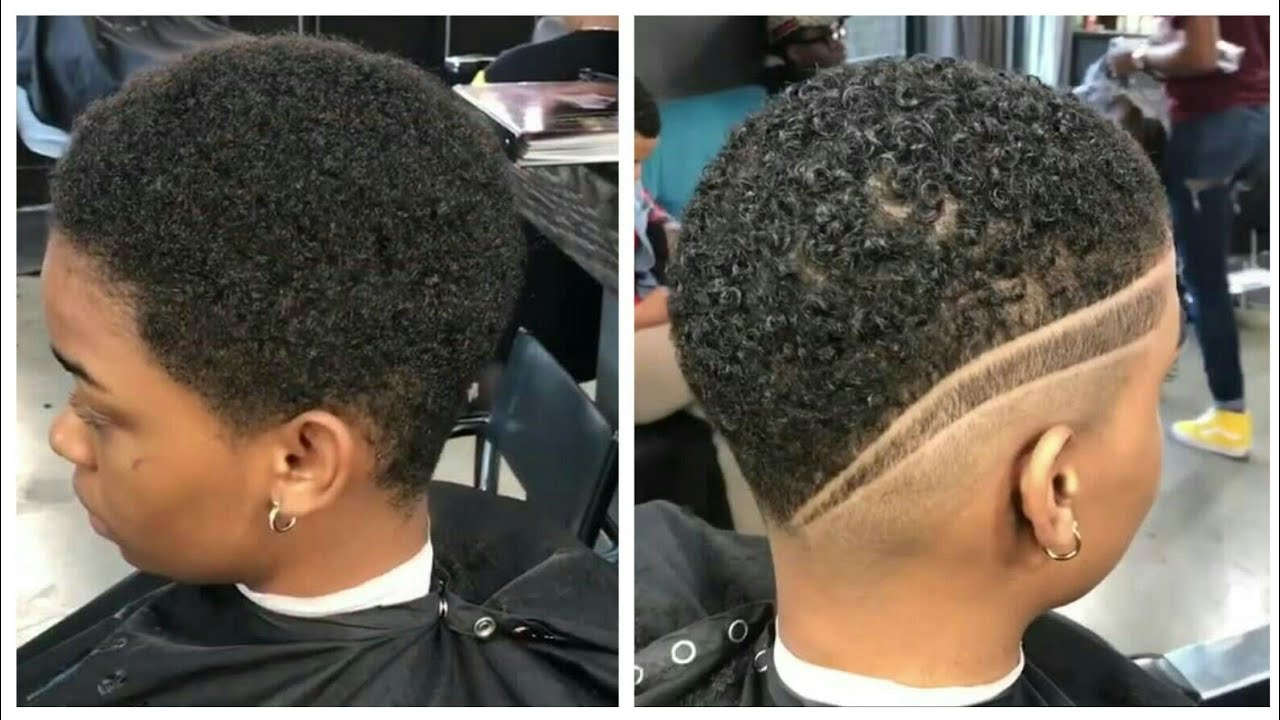 Short Hairstyles For Women Cut By Step The Barber Afro