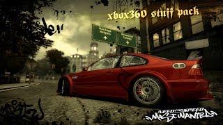 NFS:MW (2005) - Xbox360 stuff to PC [ Mod showcase ]