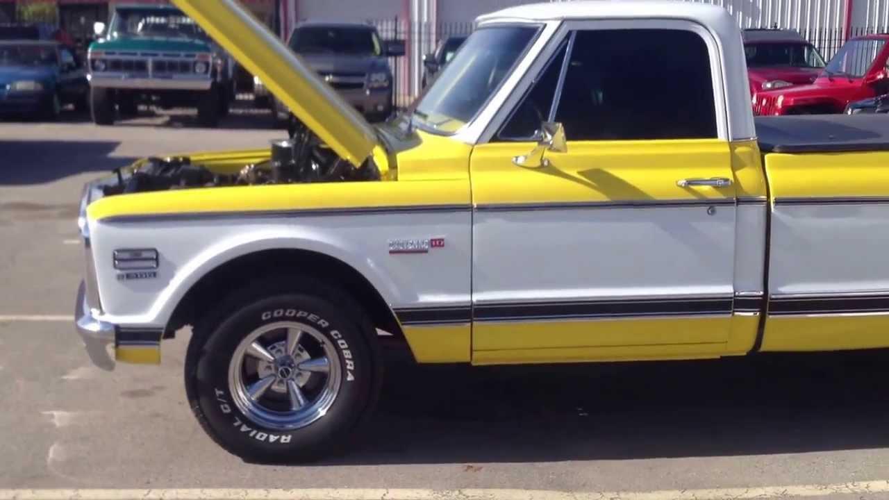 1972 Chevrolet Cheyenne Super For Sale - YouTube