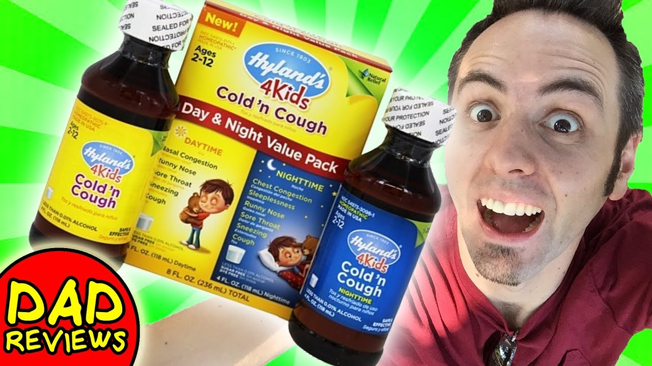 HOMEOPATHIC MEDICINE FOR KIDS | Hylands Cough and Cold Review