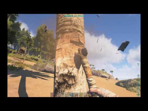ARK: Survival Evolved Ep.3 Housebuilding and cooking