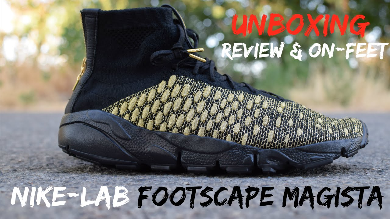 80abe7a83d25 UNBOXING  NikeLab Footscape Magista x Olivier Rousteing (Balmain ...