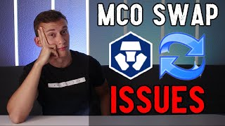 Crypto.com MCO Swap MAJOR Issues | My Response..