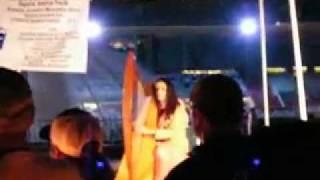 Lisa Lynne - Vblog #6 - I play my harp for a Luminaria Walk