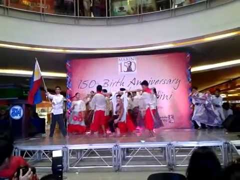 SBNCHS Special Program in the Arts Dance Drama -150th B-Day of Apo Mabini