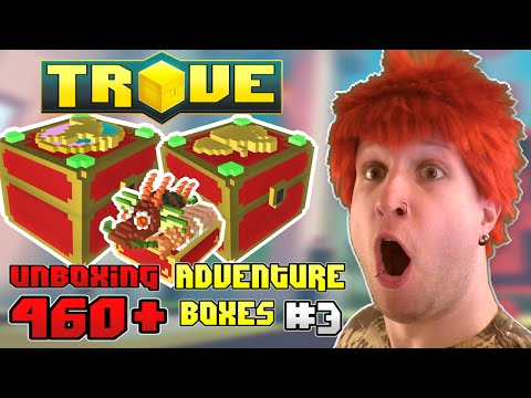 Scythe Unboxes 450+ Many-Legged Adventure Boxes in Trove [PRIZE GIVEAWAY]