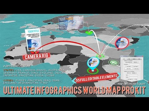 3d world map pro kit afte effects template youtube 3d world map pro kit afte effects template gumiabroncs Choice Image