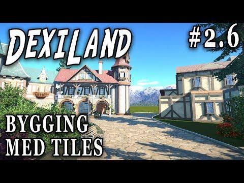 Bygging med tiles | Planet Coaster #2.6