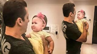 SALMAN KHAN FUNNY MOMENTS WHEN PLAY WITH LITTLE BABY