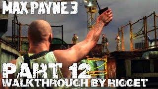 """Max Payne 3 (PS3) Прохождение Часть 12 """"Отель Империал Палас"""""""