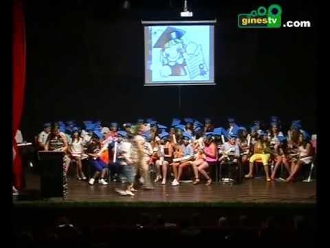 Graduación de los alumnos de sexto del colegio Ángel Campano de Gines (COMPLETO)