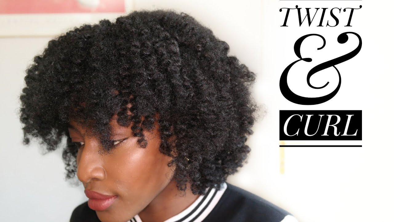 Cheveux Crépus Twist Curl De Crépus à Bouclés Sans Chaleur