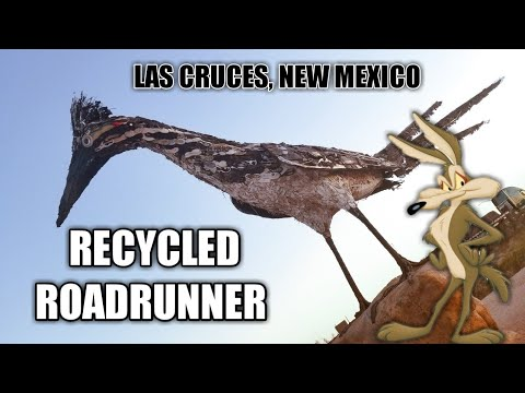 Recycled Roadrunner - Las Cruces, New Mexico