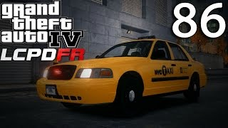 Video GTA IV - LCPDFR 1.1 - DAY 86 - NYPD TAXI CROWN VICTORIA PATROL download MP3, 3GP, MP4, WEBM, AVI, FLV Agustus 2018