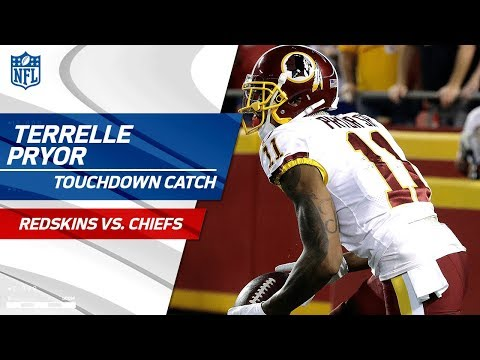 Terrelle Pryor Comes Down w/ TD Bomb from Kirk Cousins! | Redskins vs. Chiefs | NFL Wk 4 Highlights