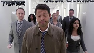Baixar Supernatural - Imagine Dragons: Thunder - Castiel, Crowley, Lucifer, and Metatron