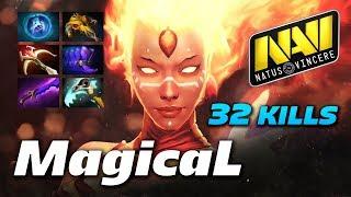 MagicaL Lina 32 KILLS | Dota 2 Pro Gameplay